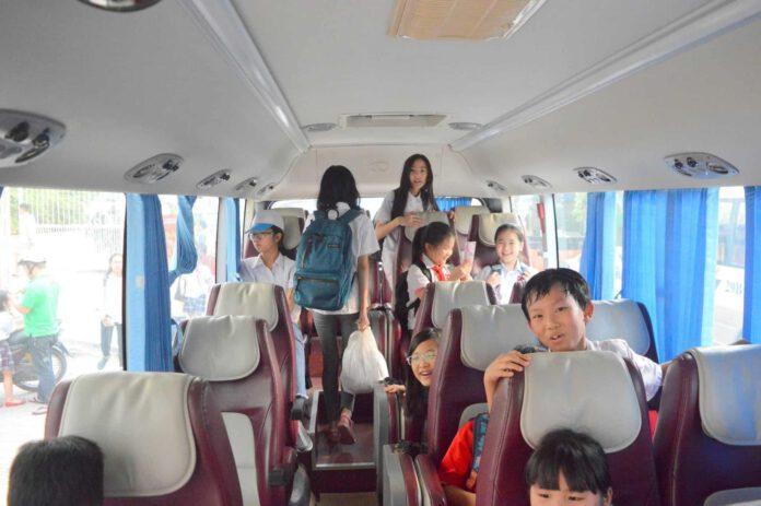 Cho thuê xe đưa đón học sinh tiện lợi, đúng quy trình - Đặt Xe Việt ATV